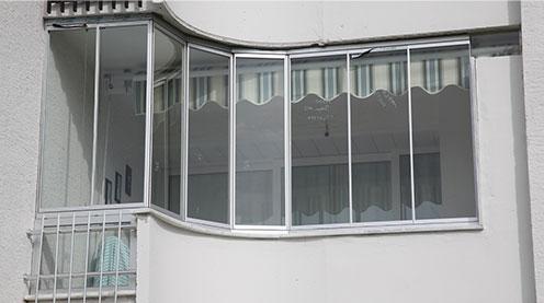 Isicam Balkon Izmir Cam Balkon Katlanir Cam Sistemi